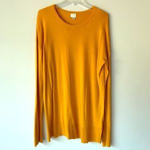 A New Day Mustard Sweater